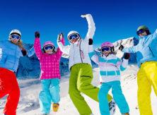 Corso di sci per ragazzi dai 5 ai 10 anni