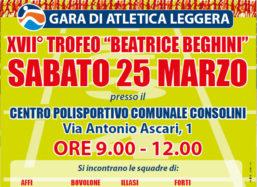 25/03: Gara di atletica leggera