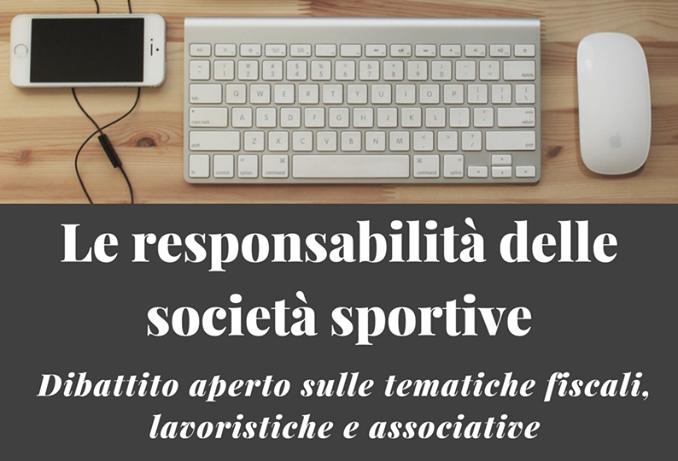 La responsabilità delle società sportive