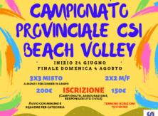 Campionato provinciale di Beach Volley