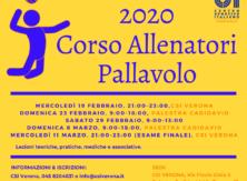 Corso allenatori pallavolo 2020