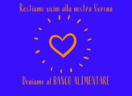 Restiamo vicini alla nostra Verona