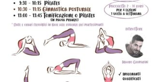 Corsi di pilates e ginnastica posturale