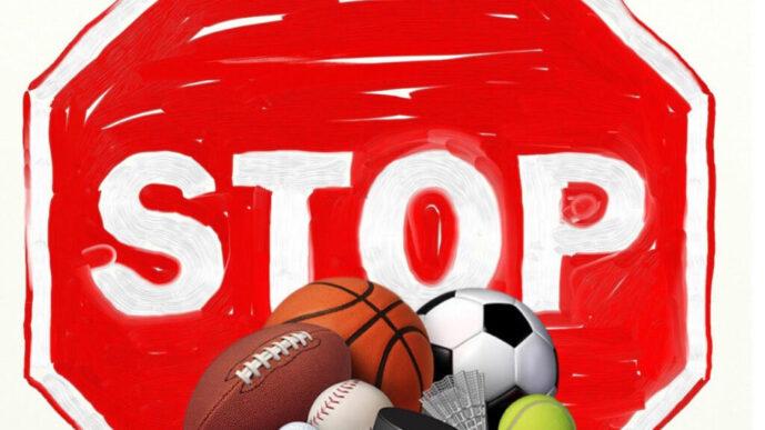 Stop attività sportiva